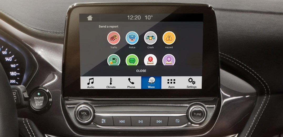 Using Waze inside your Ford vehicle is about to get easier than it's ever been. Thanks to new integration with Ford SYNC® AppLink™, Waze users will soon be able to project real-time traffic and navigation information onto Ford's SYNC 3 touch screen and access the services by voice commands.
